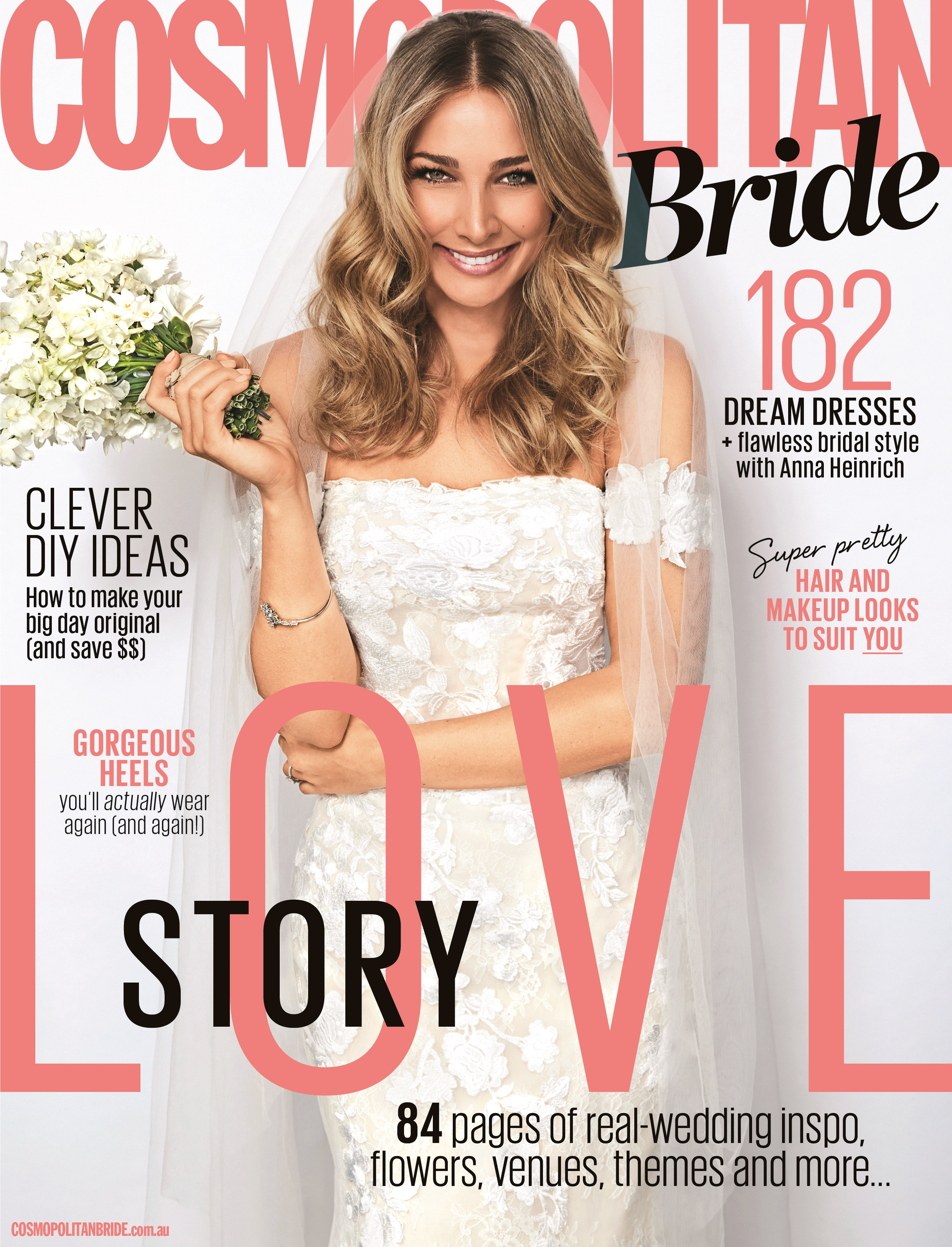Anna Heinrich In Cosmopolitan Bride Exclusive
