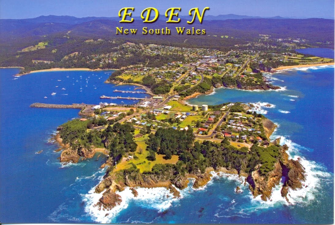 An Eden Postcard - A few years old but you get the idea !