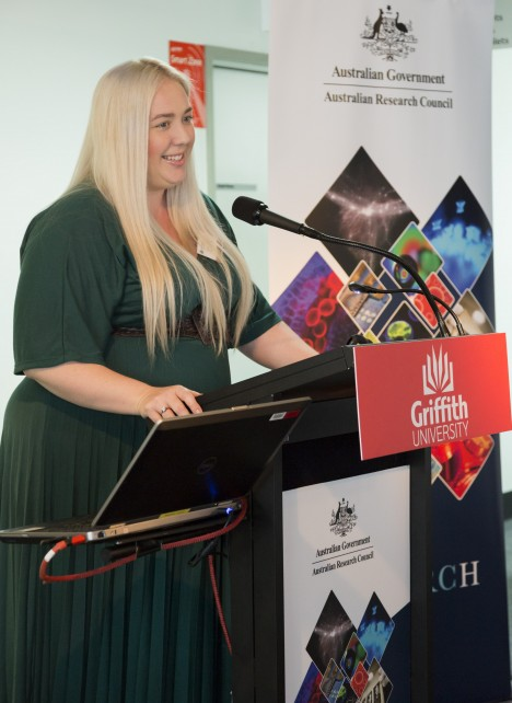 Griffith's Dr Fiona Barlow has been named as an Australian Research Council Future Fellow.